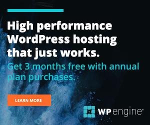 WPengine Only 300x250